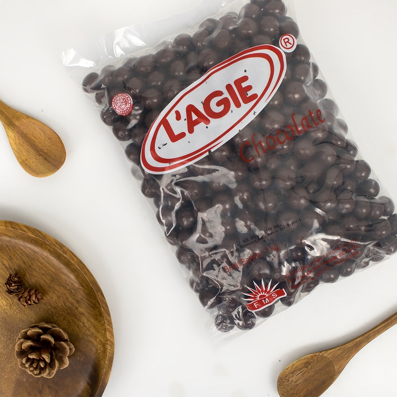L'agie Chocolate Ball Kemasan 1 kg